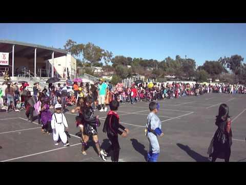 Fay Elementary School. Halloween Parade 10-31-11