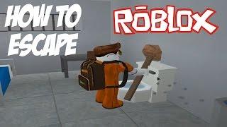 Roblox Prison Life How To Escape