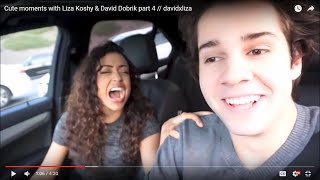 Cute moments with Liza Koshy & David Dobrik part 4 // davidxliza