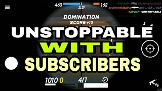 UNSTOPPABLE PARTY WITH SUBSCRIBERS || GUNS OF BOOM