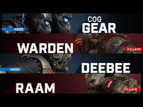 Gears 5 adds six DLC characters today, including Terminator: Dark Fate stars