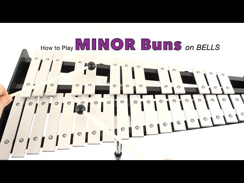 Bells: How to Play MINOR HOT CROSS BUNS