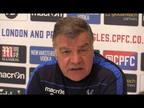 Sam Allardyce Full Pre-Match Press Conference - Crystal Palace v Arsenal