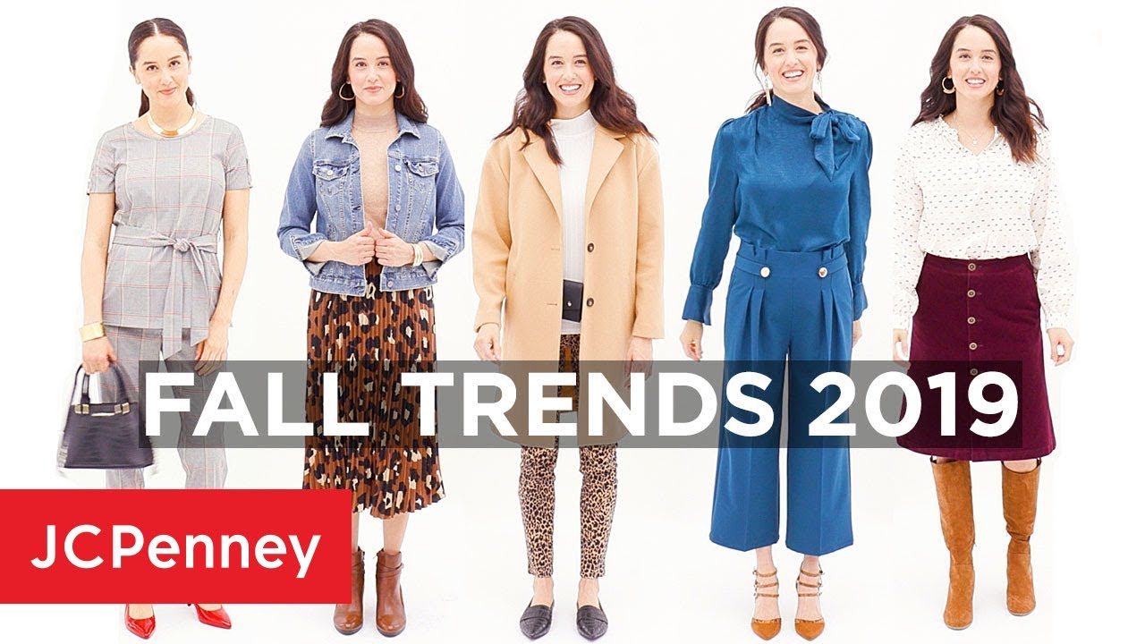 Women's Fall Fashion Trends 2019 | JCPenney 8