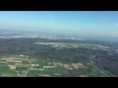 CJ4 Exec Flight - Short hop in sunny weather from Memmingen (EDJA) to Stuttgart (EDDS)