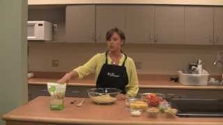 Healthy Cooking Demo - Quinoa Vegetable Salad