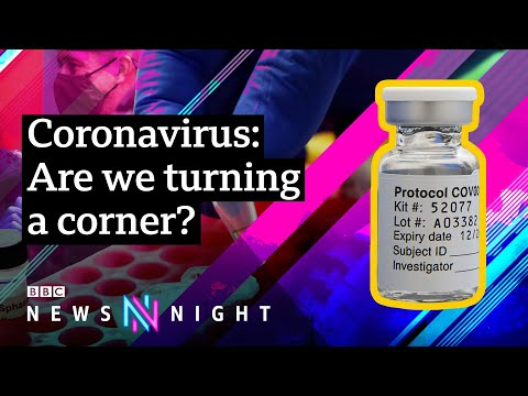 Coronavirus: Post-lockdown plans revealed as Oxford vaccine breakthrough announced - BBC Newsnight