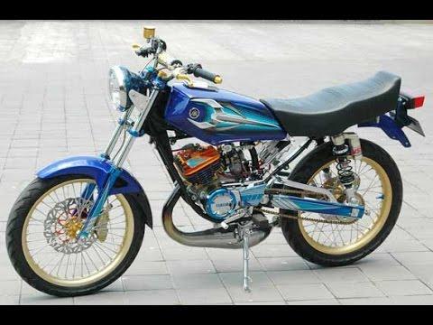 Motor Trend Modifikasi | Video Modifikasi Motor Yamaha RX King Jari Knalpot Kolong Terbaru Part 2