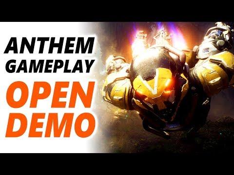 ANTHEM GAMEPLAY | Anthem OPEN Demo