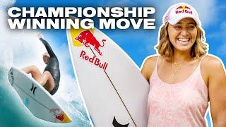 La surfeuse qui change la donne poussant son sport un mouvement à la fois   La pièce avec Carissa Moore