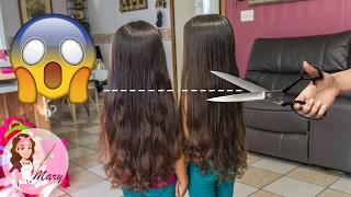 ¡les corte el cabello a mis gemelas