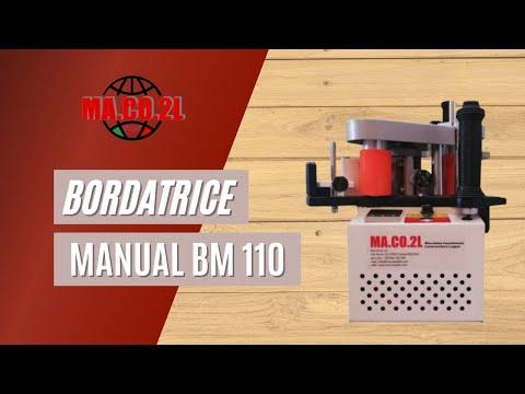 Bordatrice manuale BM 110 MA.CO.2L srl
