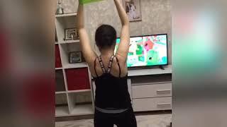 Упражнения с фитнес резинками дома