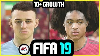 FIFA 19 - BIGGEST GROWING YOUNG PLAYERS WITH REAL FACES #1