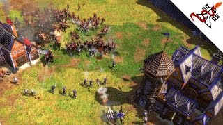 Age of Empires 3 - 4vs4 The Silence Before The Storm