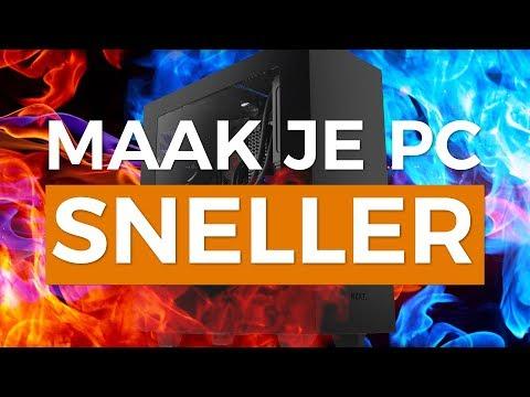 MAAK GRATIS JE TRAGE PC SNELLER! - Tutorial - TechTime