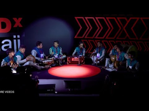 Goan folk music with ghumat and other percussion | Sai Damodar Group | TEDxPanaji