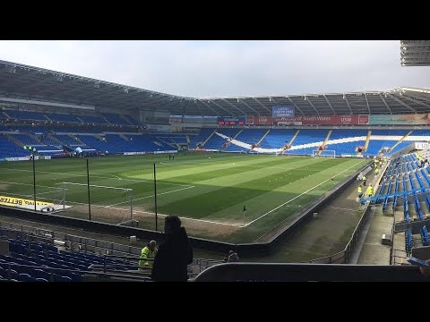 Cardiff City Vs Rotherham United - Match Day Experience