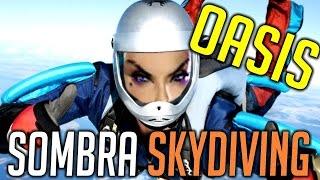Overwatch OASIS SOMBRA SKYDIVING