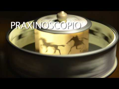 Zoótropo y Praxinoscopio