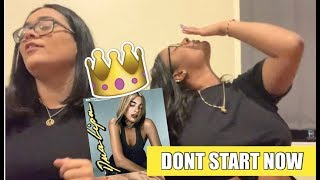 Dua Lipa - Don't Start Now (AUDIO) | REACTION!
