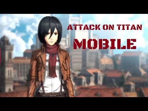Image result for ATTACK ON TITAN MOBILE 進擊的巨人