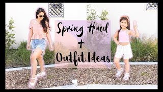 Spring Clothing Try On Haul + Outfit Ideas (AFFORDABLE)