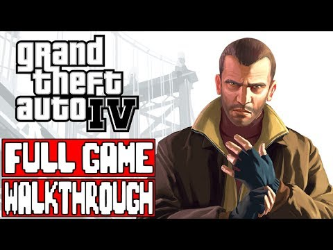 GRAND THEFT AUTO 4 Full Game Walkthrough - No Commentary thumbnail