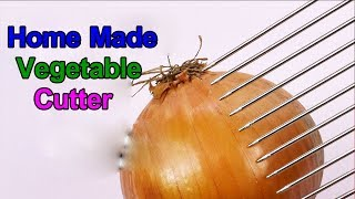 How To Make Vegetable Cutter At Home || Vegetable Cutter || Ideas Factory