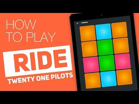 How to play: RIDE (Twenty one pilots) - SUPER PADS - Burgman Kit