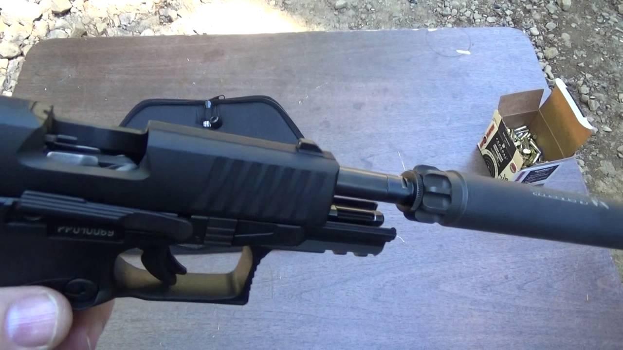 Walther PPQ 22LR Suppressed