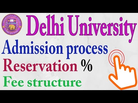 Delhi University Admission Process 2017-18 || DU Online Process || Education News #2