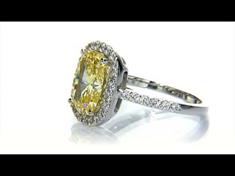Gold Cubic Zirconia Ring Www Birkatelyon Com Youtube