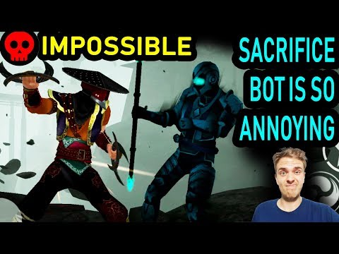 Shadow Fight 3 Chapter 7. Defeating Sacrifice Bot and Itu on Impossible! That took a while...