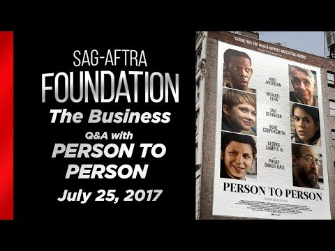 The Business: PERSON TO PERSON