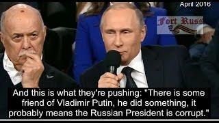 Putin destroys the