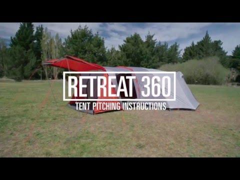 How To Pitch A Kathmandu Retreat 360 Tent