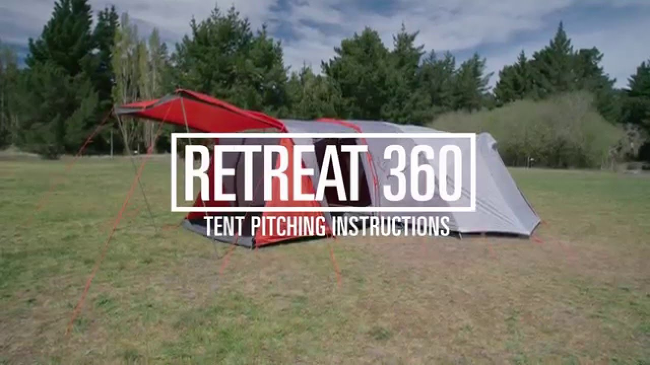 & How to Pitch a Kathmandu Retreat 360 Tent - YouTube