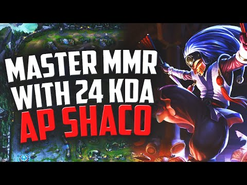 24KDA IN MASTER MMR ON AP SHACO | Road To Challenger