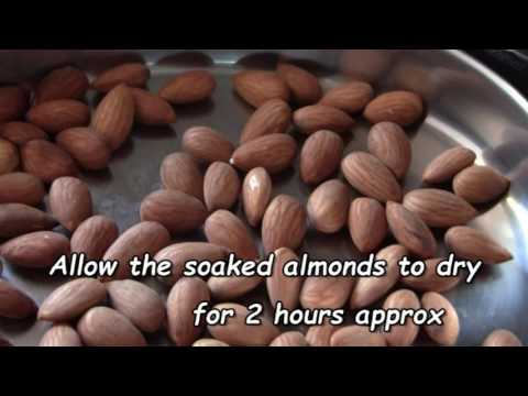 How to prepare Almonds for Paleo diet