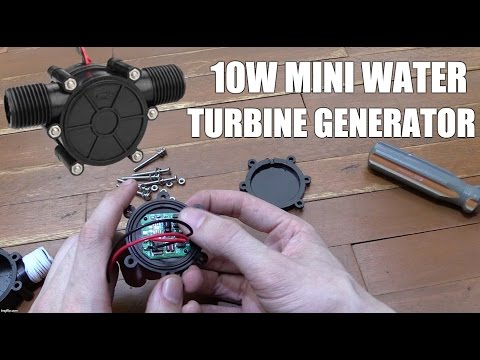 10W Mini Turbine Generator from eBay