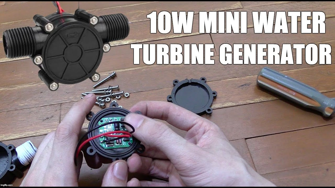 10w Mini Turbine Generator From Ebay Youtube
