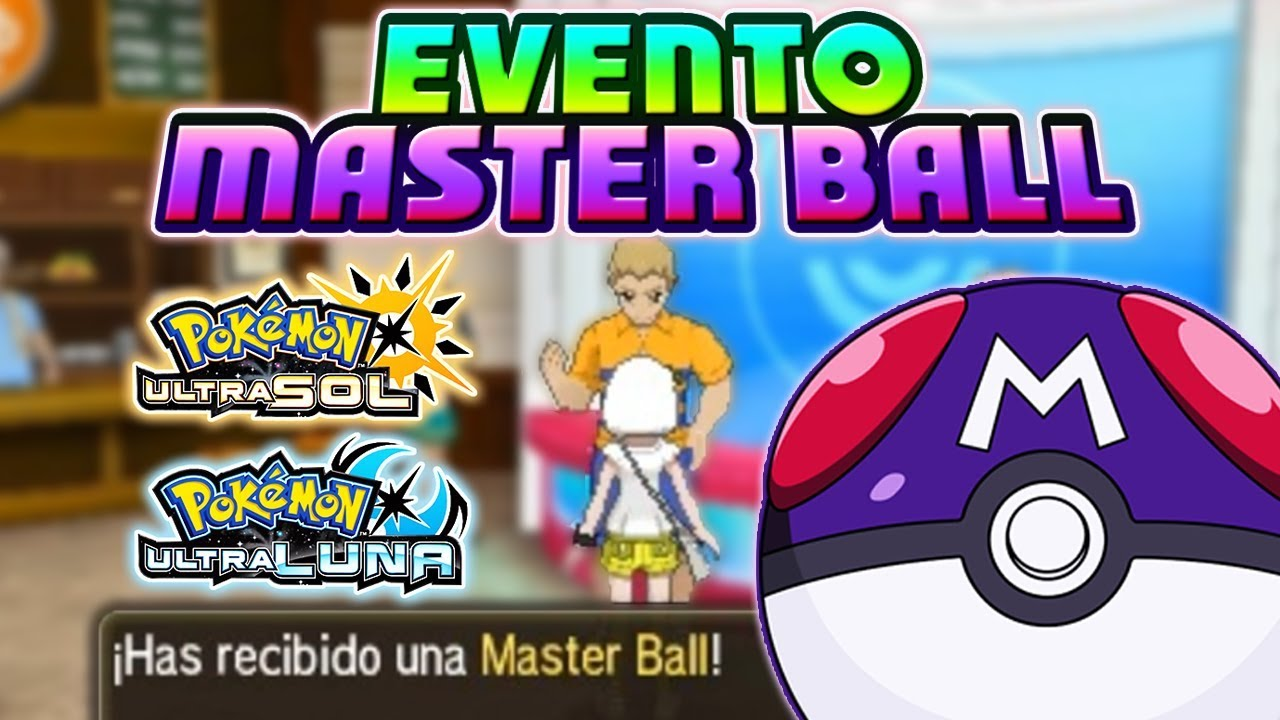 how to get an extra master ball in pokemon y