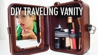Diy Traveling Vanity And Make-up Case With Mr. Kate