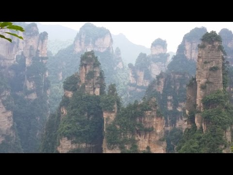 2016 China Trip Day 10 in Avatar Hallelujah Mountain, Hunan China