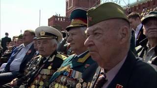 Парад в честь 70-летия Великой Победы. 9 мая 2015 года