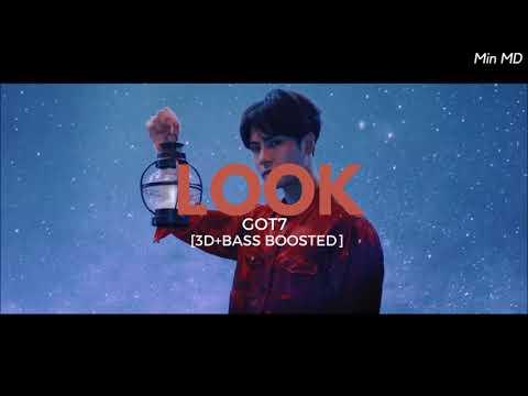 [3D+BASS BOOSTED] GOT7 (갓세븐) - LOOK | Min MD