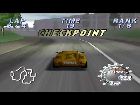 Automobili Lamborghini Gameplay [N64]