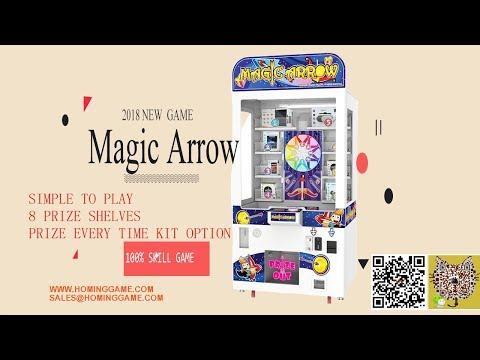 Magic Arrow Prize Arcade Game Machine Hot Prize Redemption Game Machine(sales@hominggame.com)