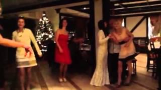 Танцевальный батл невесты с папой!